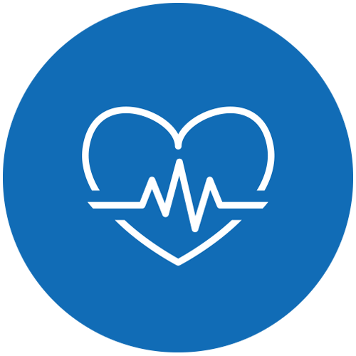 healthcare and wellness pathway icon