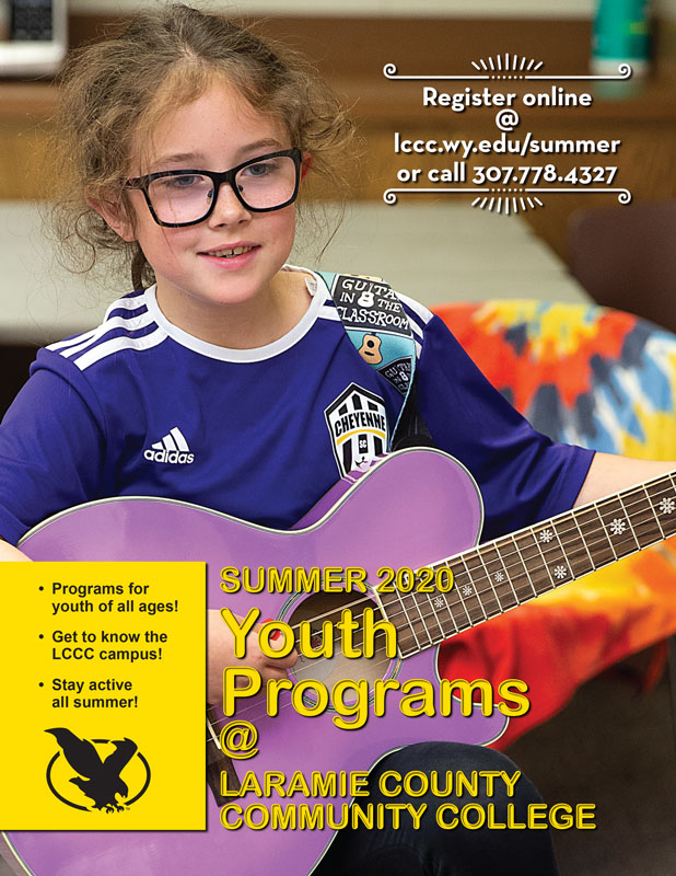 cover of Youth Programs Schedule Summer 2020